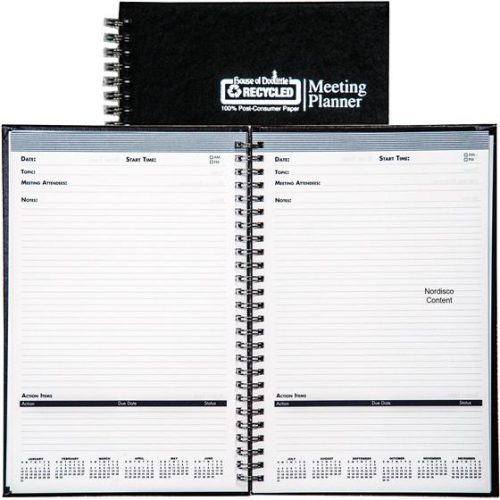 "HOD583892 Meeting Note Planner 6"" x 9"""