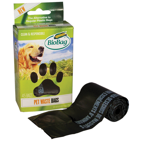 Pet Waste Bags on roll made from plants
