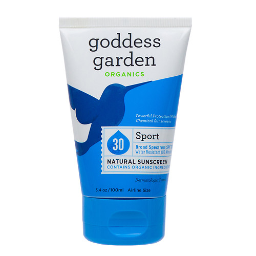 Goddess Garden Sunscreen-Sport Natural