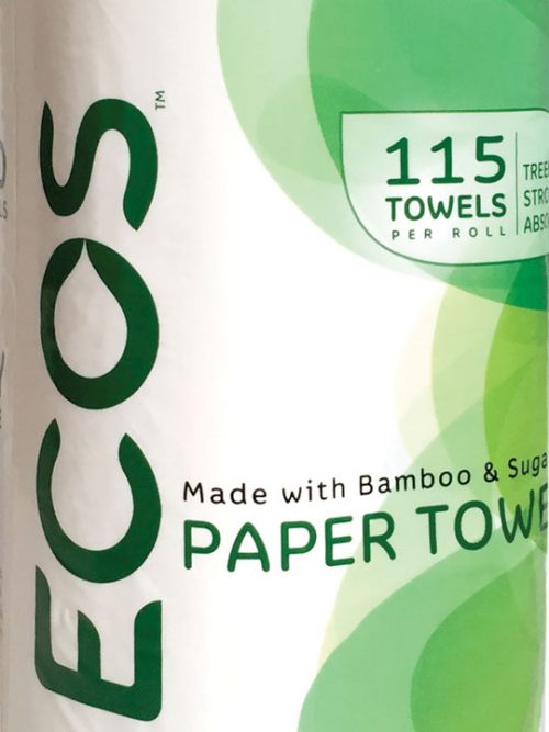Ecos Treeless Paper Towels pack