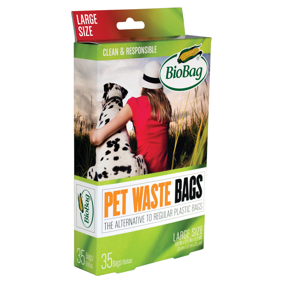 Large Pet Waste Bags made from plants