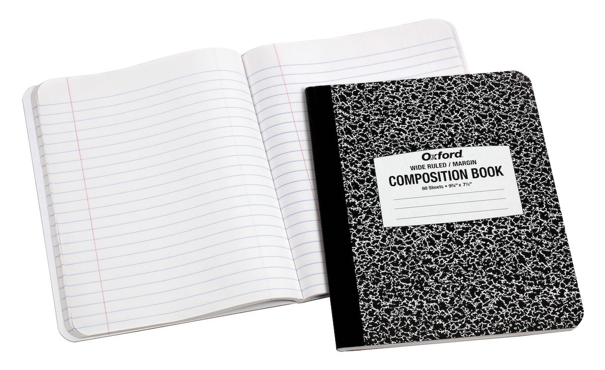 Student Composition Books