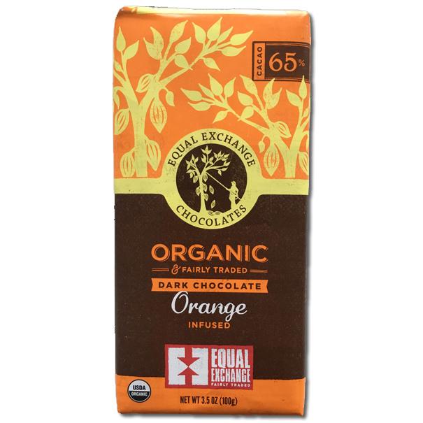Orange Dark Organic Chocolate